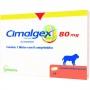 Anti-inflamatório vetoquinol cimalgex cimicoxib 80mg para cães com 8 comprimidos