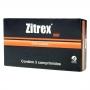 Antibiótico zitrex 500mg para cães e gatos com 3 comprimidos