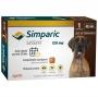 Antipulgas e Carrapatos Zoetis Simparic 120mg para Cães 40,1 a 60kg