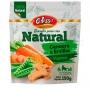 Biscoito natural colosso vegano cenoura e ervilha 150g