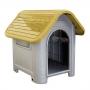 Casa plástica mec pet dog home Nº3 amarelo