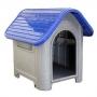 Casa plástica mec pet dog home Nº3 azul