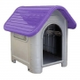 Casa plástica mec pet dog home Nº3 lilás