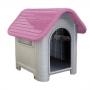 Casa plástica mec pet dog home Nº3 rosa