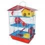 Gaiola para hamster com 3 andares Jel Plast