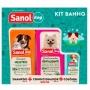 Kit shampoo condicionador e colonia Sanol Dog
