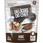 Petisco Snack Petitos Delicias do Chef Sabor Kibe para Cães