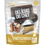 Petisco Snack Petitos Delicias do Chef Sabor Pasteizinhos para Cães