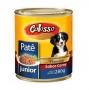 Ração colosso lata para cães filhote carne pate 280g