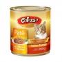 Ração colosso lata para gatos frango pate 280g