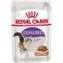 Ração royal canin sache gatos castrados sterilised 85g
