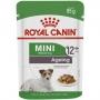 Ração royal canin sache para cães adultos ageing 12+ raças pequenas 85g