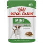 Ração royal canin sache para cães adultos raças pequenas 85g
