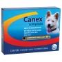 Vermifugo ceva canex para cães com 4 comprimidos