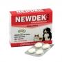 Vermífugo ecovet newdek cartela com 4 comprimidos