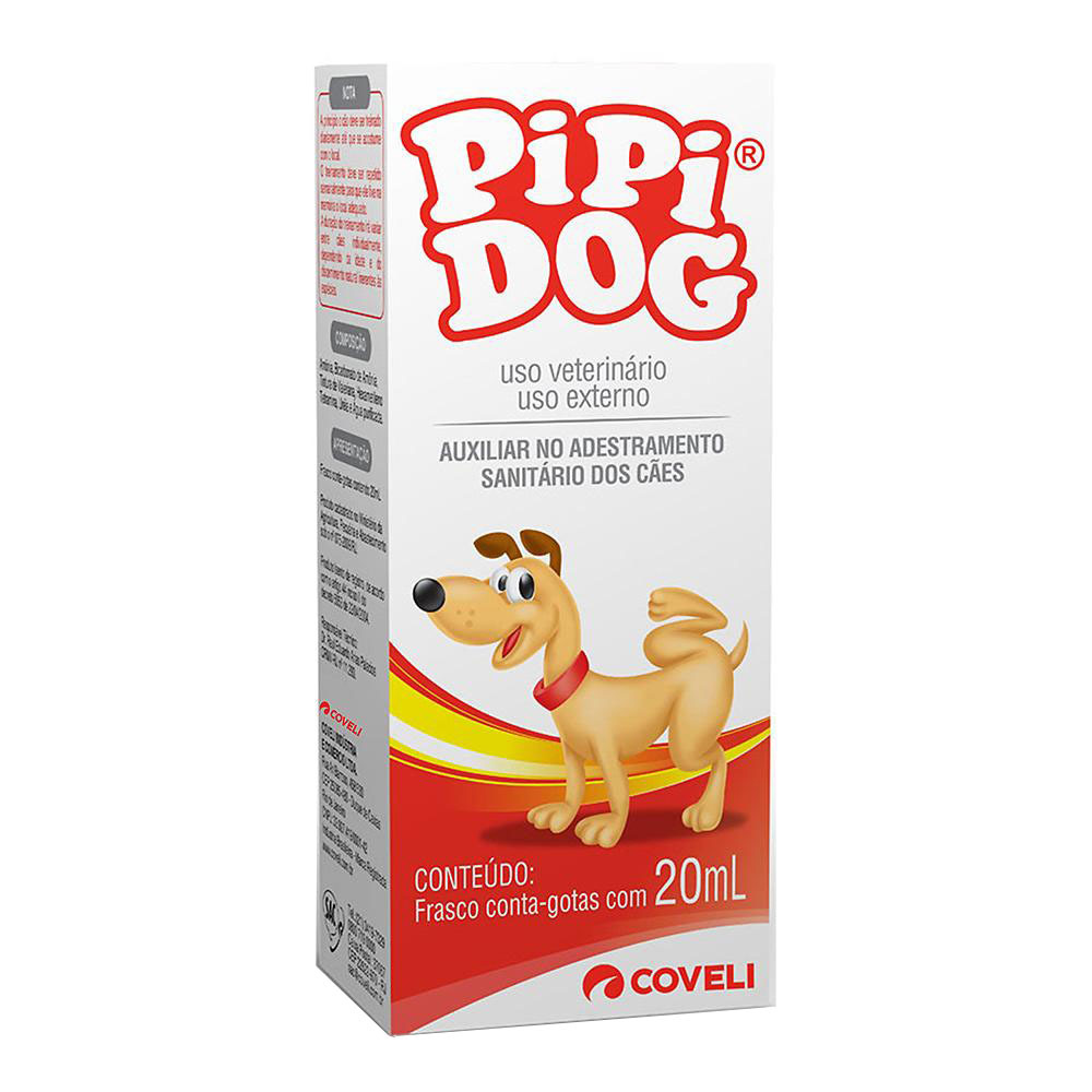 Adestrador sanitário coveli pipi dog 20ml