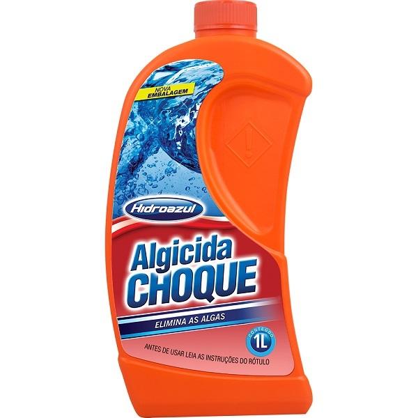 Algicida choque hidroazul 1LT