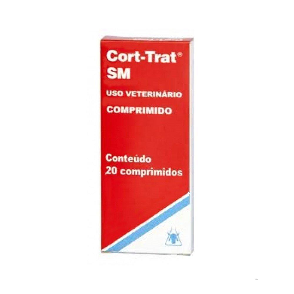 Anti-inflamatório cort-trat sm com 20 comprimidos