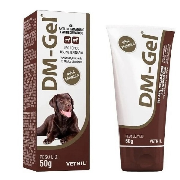 Anti-inflamatório vetnil dm gel