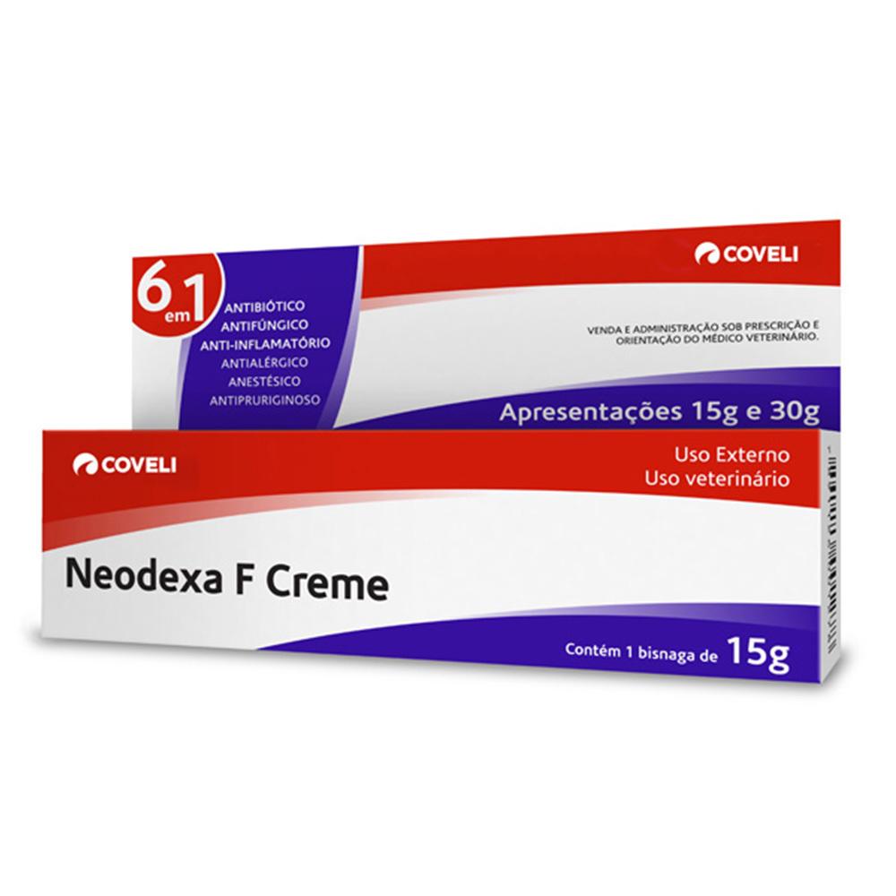Antibiótico coveli em creme neodexa 15g