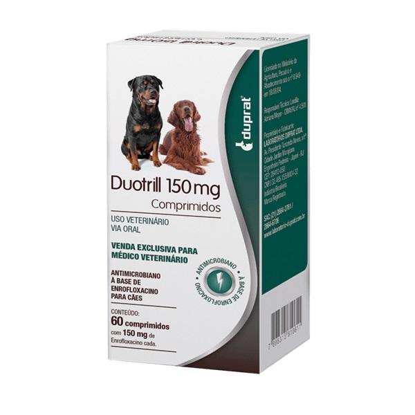 Antibiótico duprat duotrill 150mg cartela avulsa com 10 comprimidos