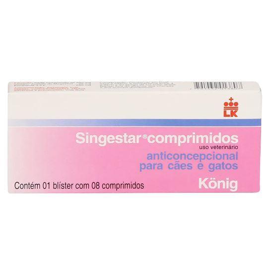 Anticoncepcional konig singestar com 8 comprimidos