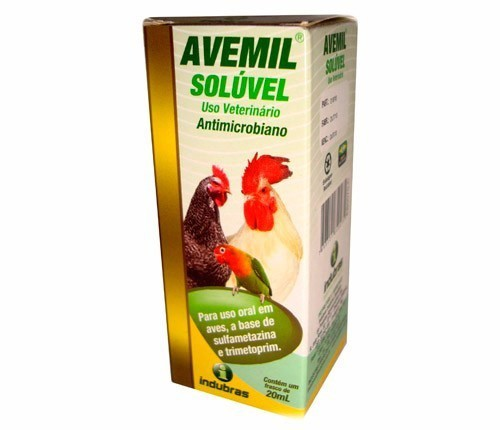 Antimicrobiano Avemil solúvel 20ml