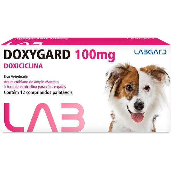 Antimicrobiano doxygard 100mg cartela avulsa com 12 comprimidos