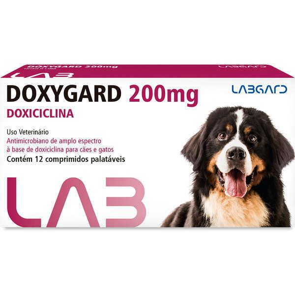Antimicrobiano doxygard 200mg cartela avulsa com 12 comprimidos