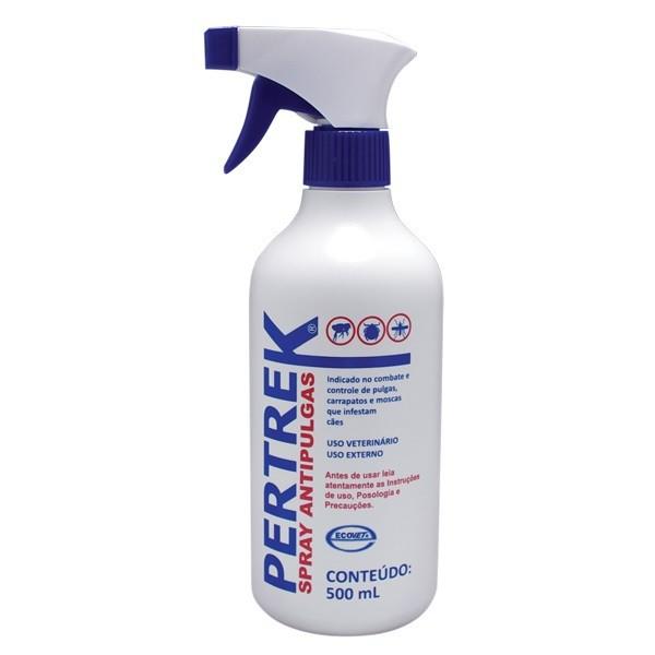 Antipulgas e carrapatos pertrek spray 500ml