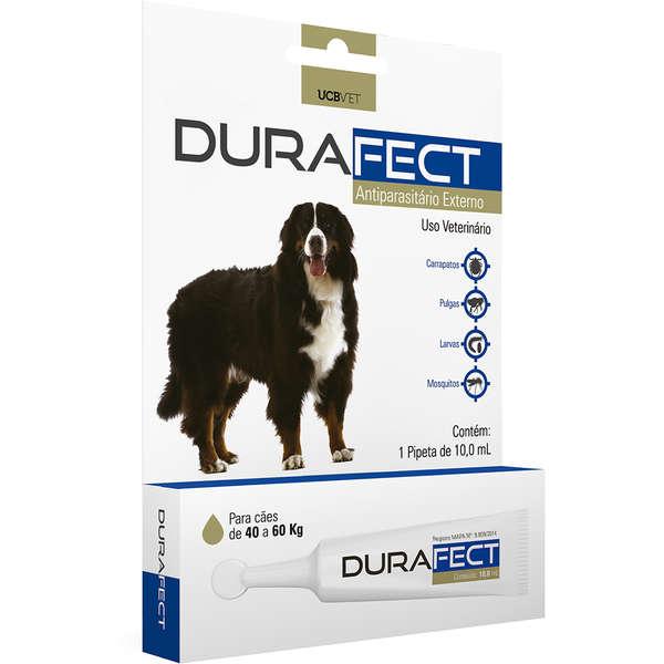 Antipulgas UCBVET Durafect 10ml para Cães até 40 a 60 Kg