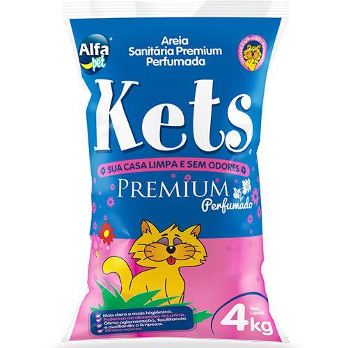 Areia Sanitária Kets Premium Perfumado