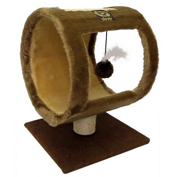 Arranhador ring em pelucia SAO PET