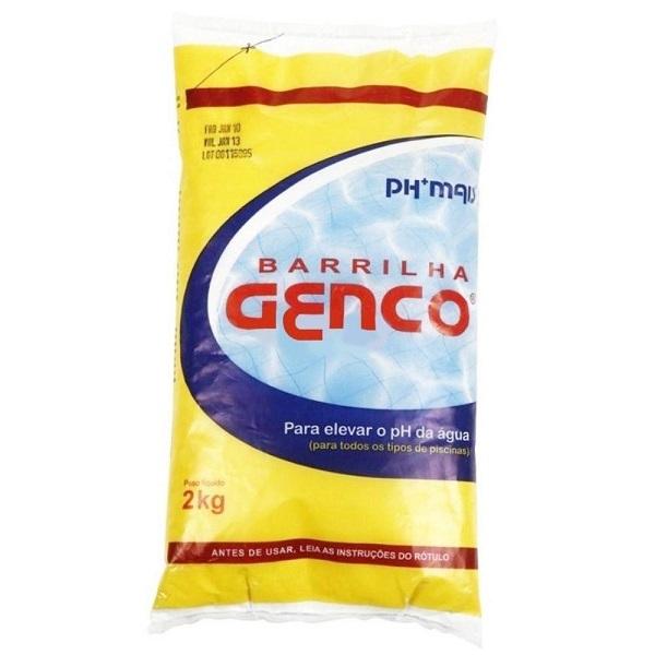 Barrilha ph+ genco 2kg