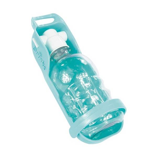 Bebedouro portátil plast pet azul tifany