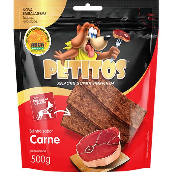 Bifinho Petitos carne 500g