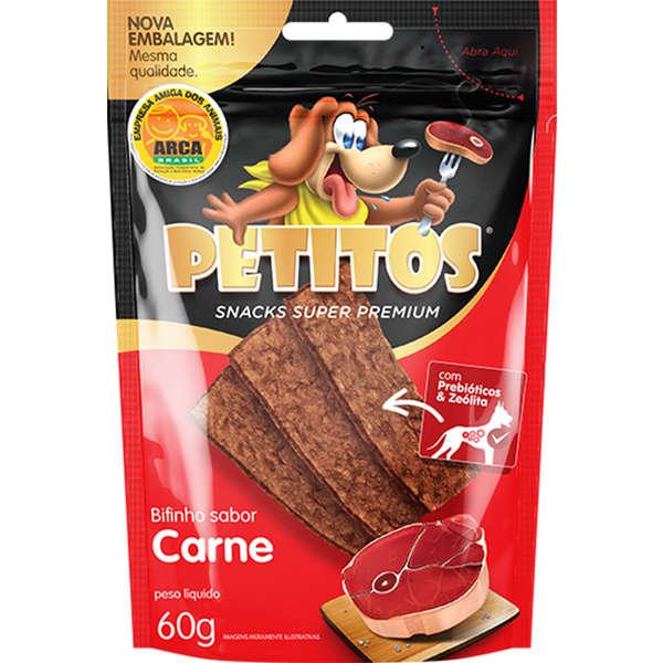 Bifinho Petitos carne 60g