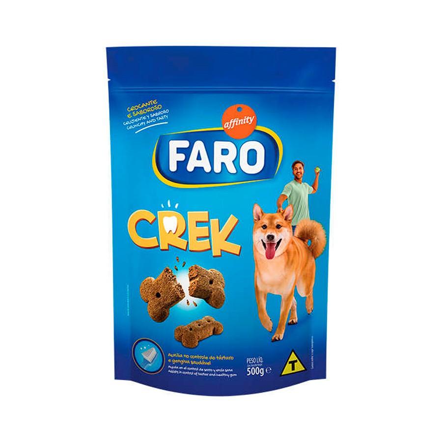 Biscoito faro crek para cães 500g