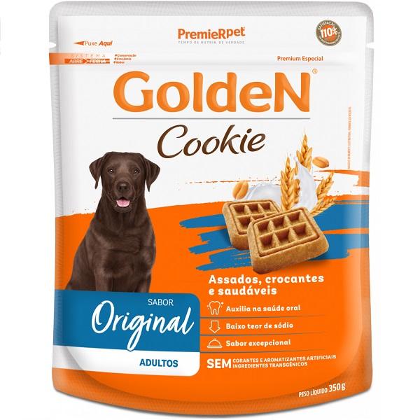 Biscoito golden cookie para cães adultos 350g