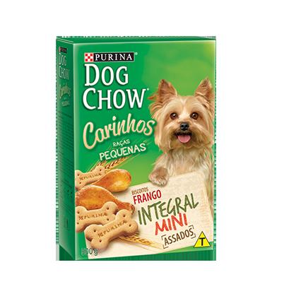 Biscoito purina dog chow carinhos mini 500g