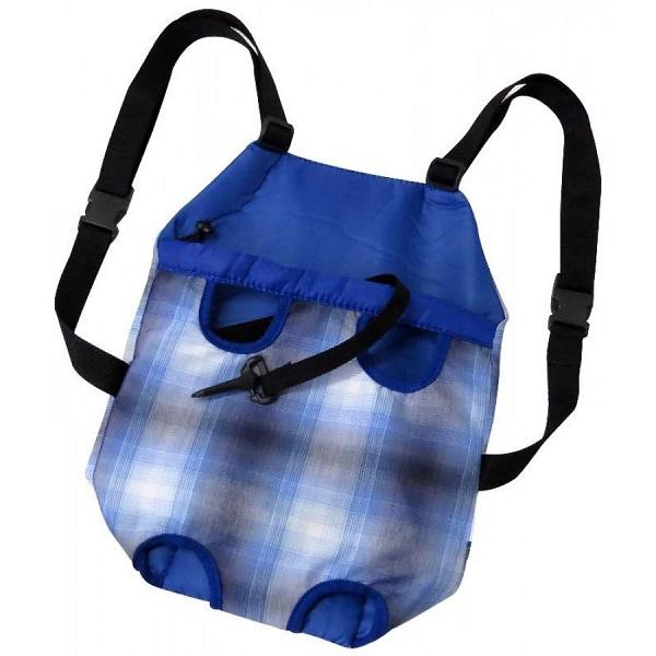 Bolsa frontal sao pet azul