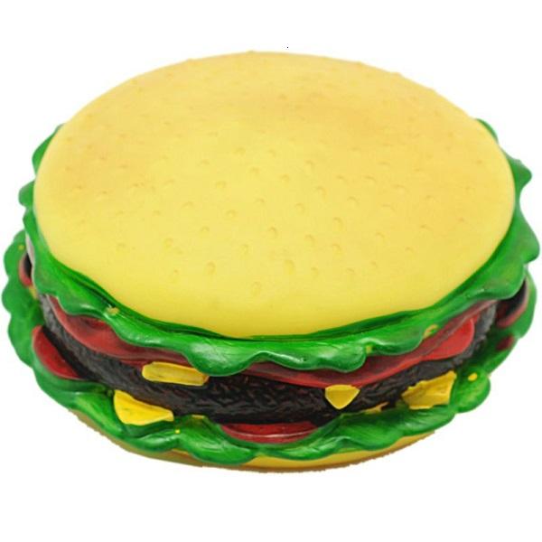 Brinquedo hamburguer vinil para caes