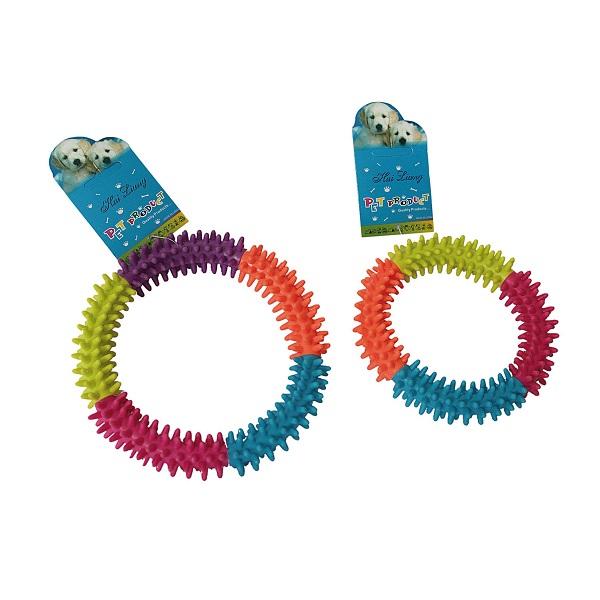 Brinquedo mordedor argola color PetLider