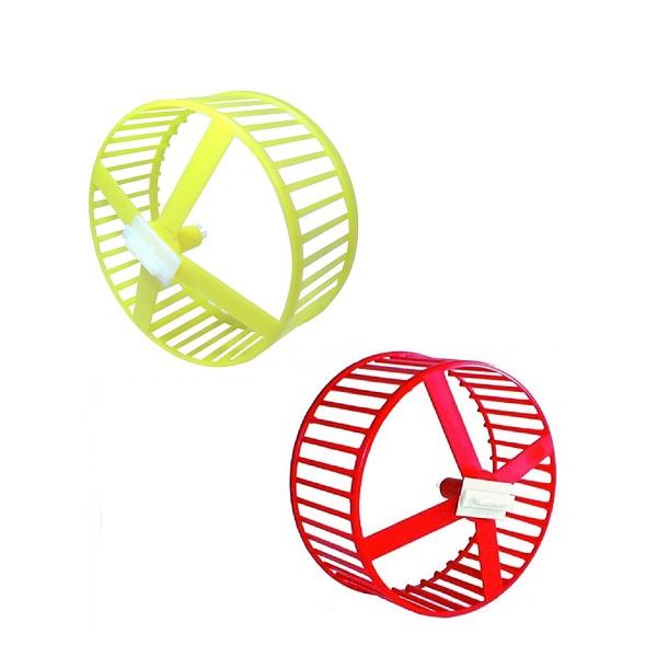 Brinquedo roda plastica para hamster