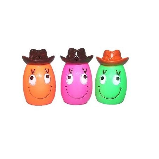 Brinquedo vinil xerife feliz