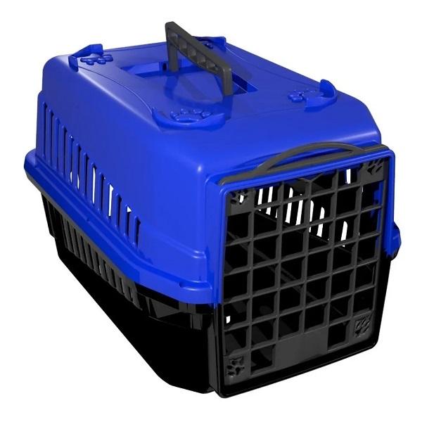 Caixa de transporte mec pet azul