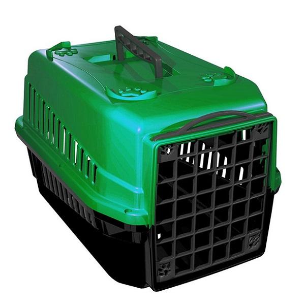 Caixa de transporte mec pet verde
