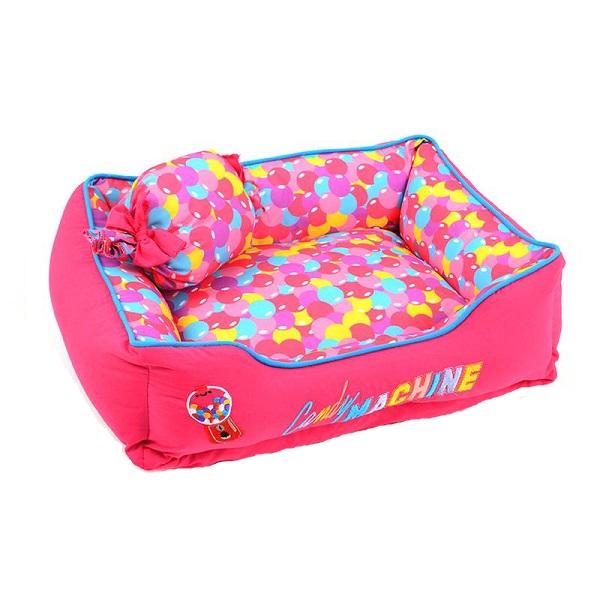Cama candy machine rosa tamanho M Emporium Distripet