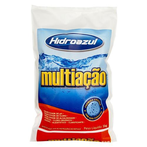 Cloro multi ação hidroazul 1kg