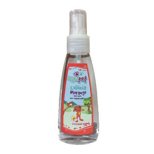 Colonia aquapet morango 100ml